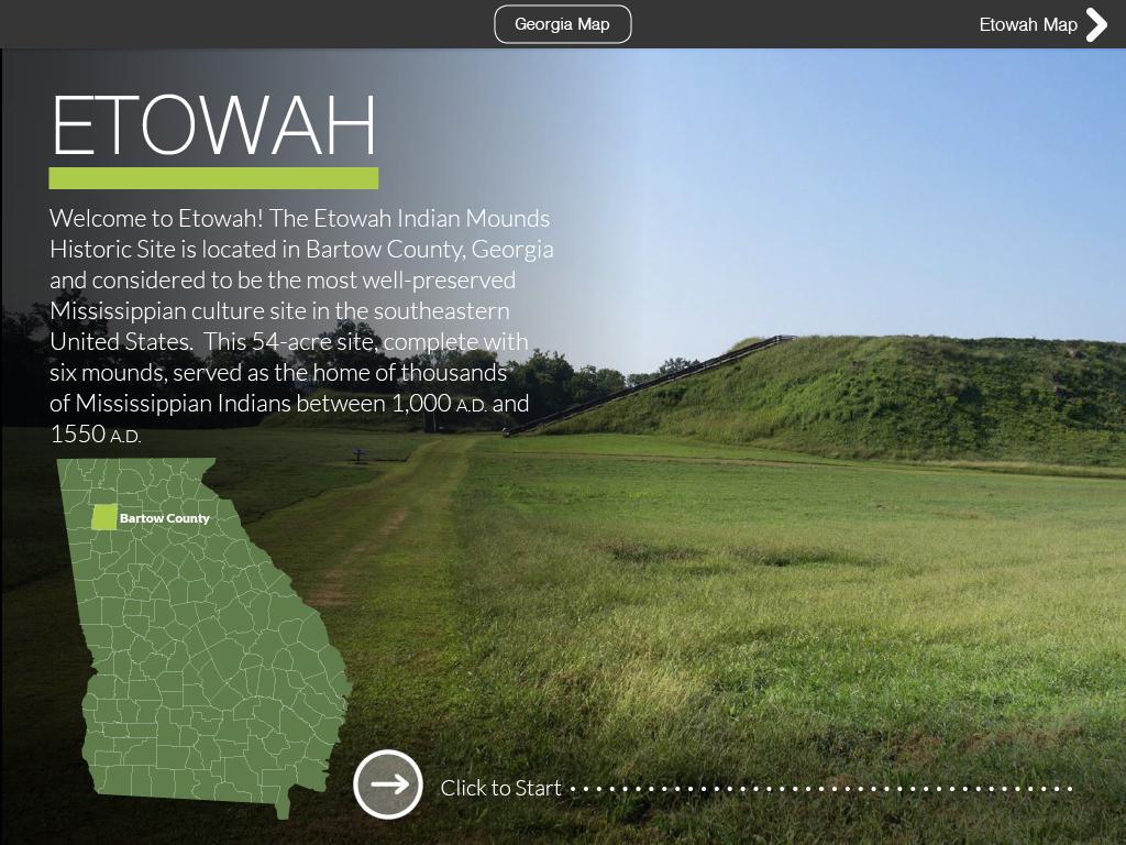 Indian Mounds Web Virtual Field Trip Web Version