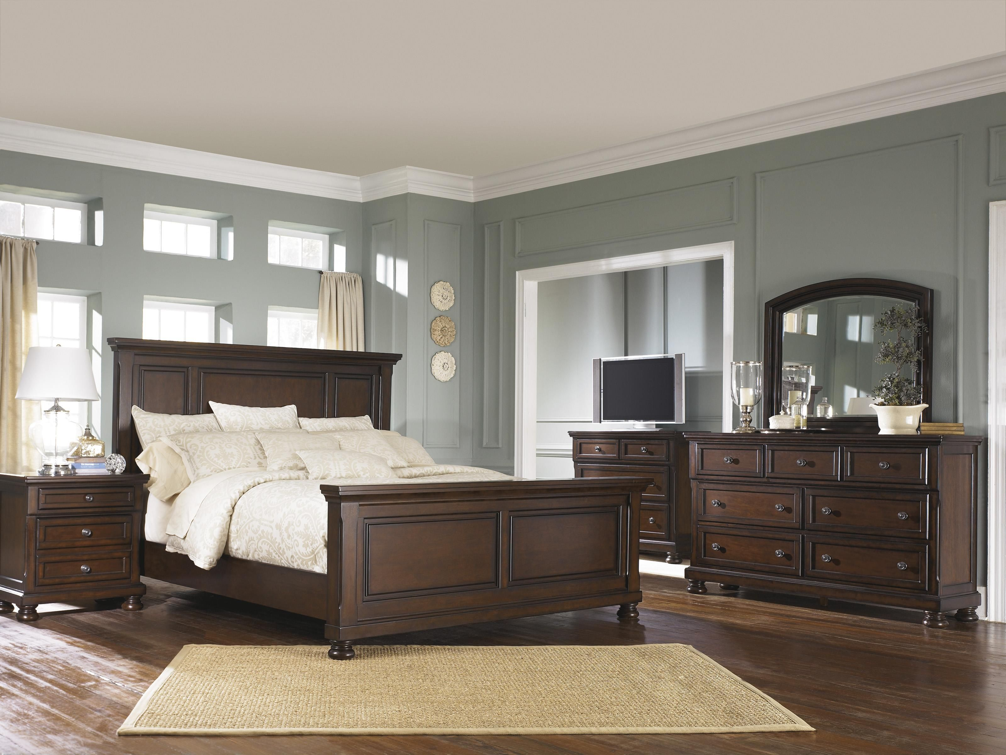Porter queen bedroom group by ashley furniture dream home