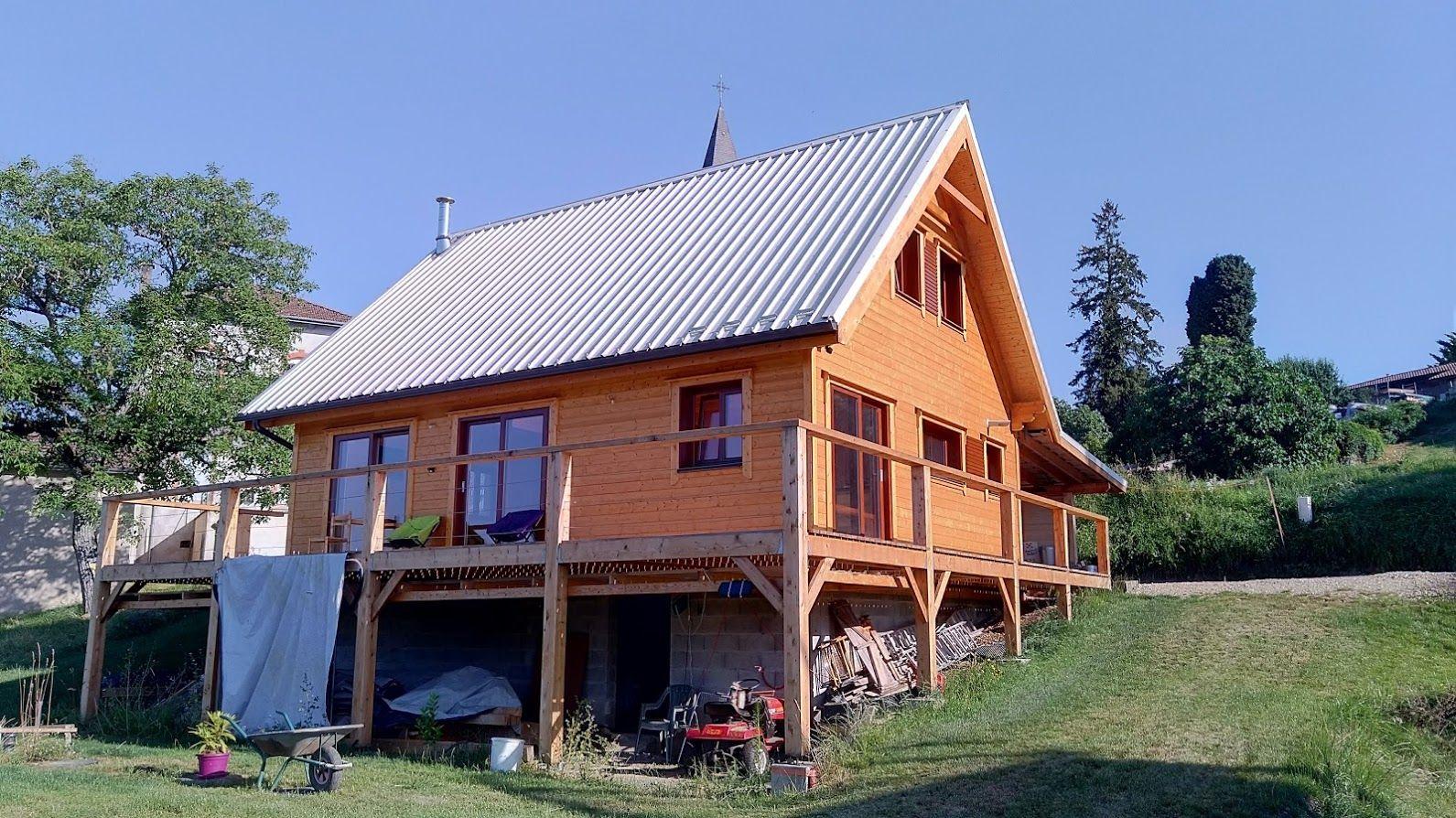 Terrasse Sur Vide Sanitaire Maison Bois Maison Style Maison