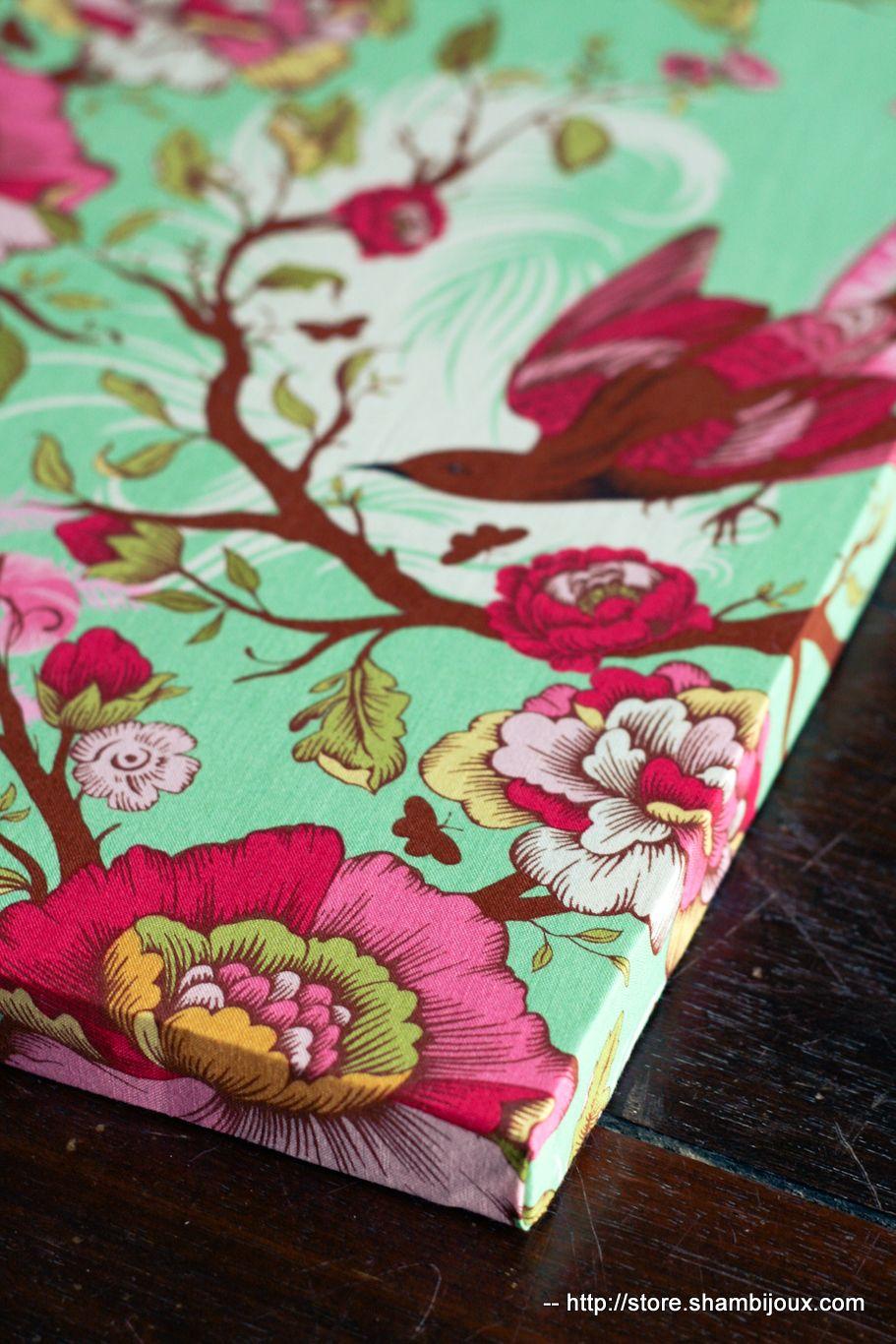 Diy fabric wall art shambijoux craft fabrics fabric
