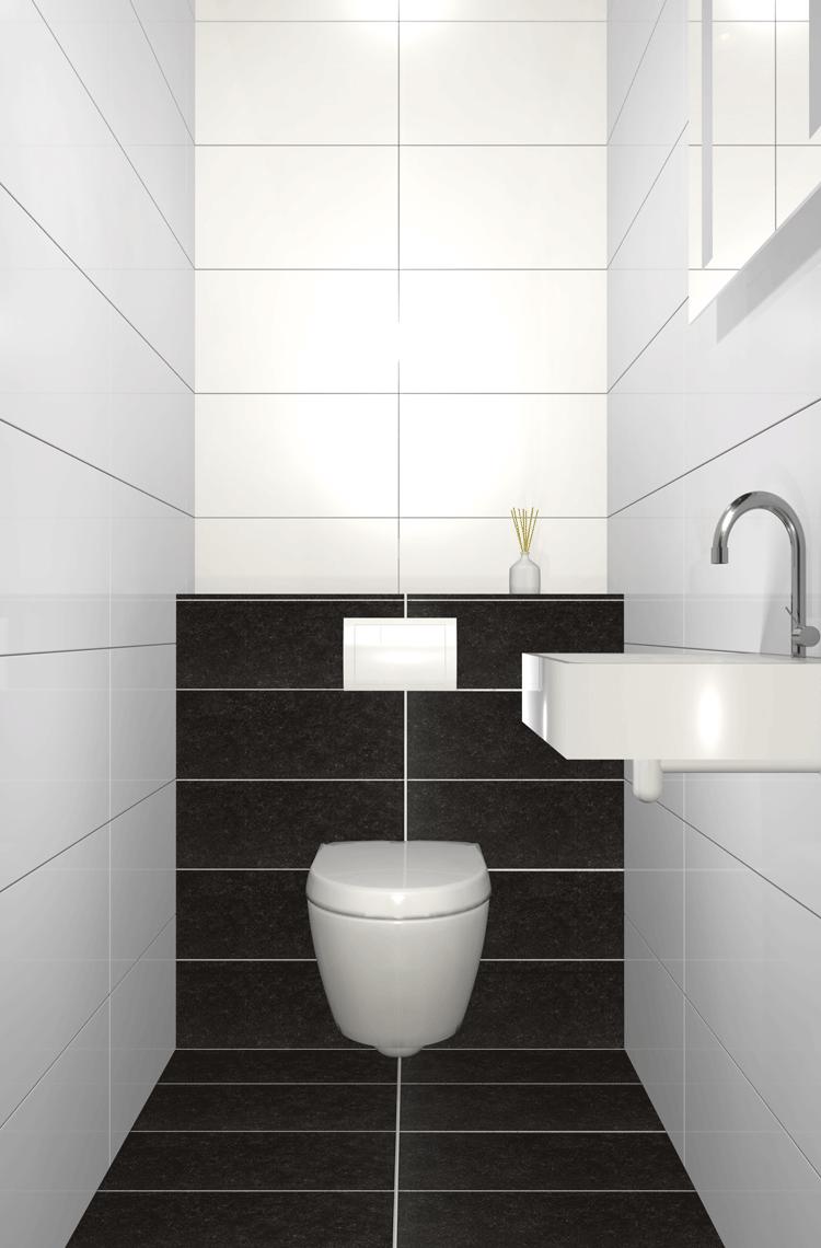 Toilet Procasa Modern toilet, Kleine badkamer