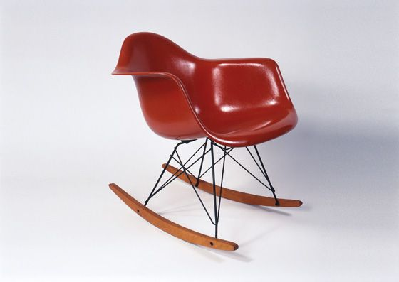 spare space new minimalist interiors eames rocker eames
