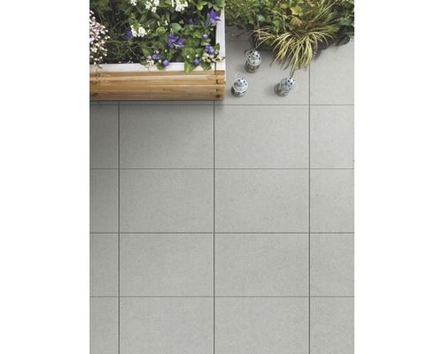 Beton Terrassenplatte Grau 60x40x5cm Cosy Cosy Home And Garden