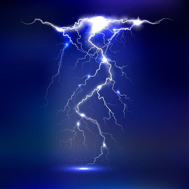 Relámpago - aislado. efectos luminosos l...   Premium Vector #Freepik #vector #fondo #luz #electricidad #tiempo