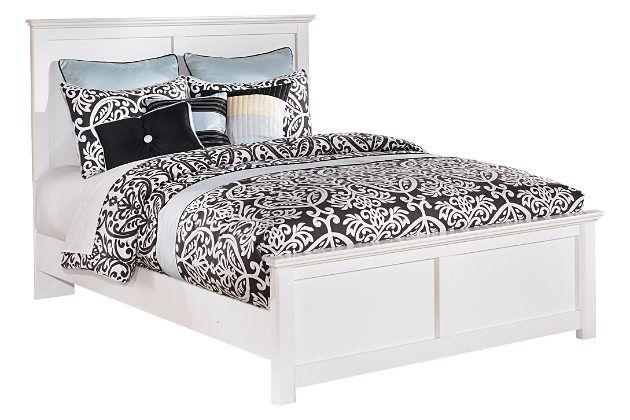 Bostwick Shoals Queen Panel Bed By Ashley Homestore White Discount Bedroom Furniture Bed Frame With Mattress Queen Panel Beds