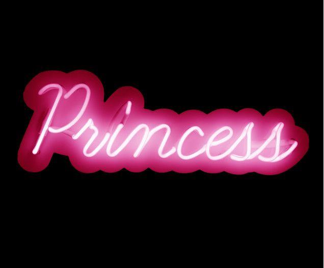 Neon Leuchtschrift Princess