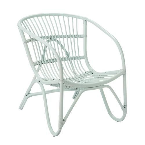 Bloomingville Rattan Chair In Mint