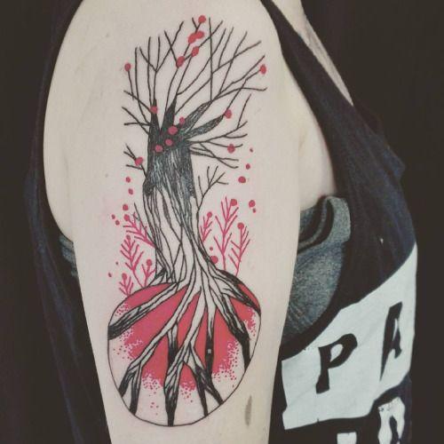 tarmasz:  Et un autre sur @lylypie #tarmasz #tattoo
