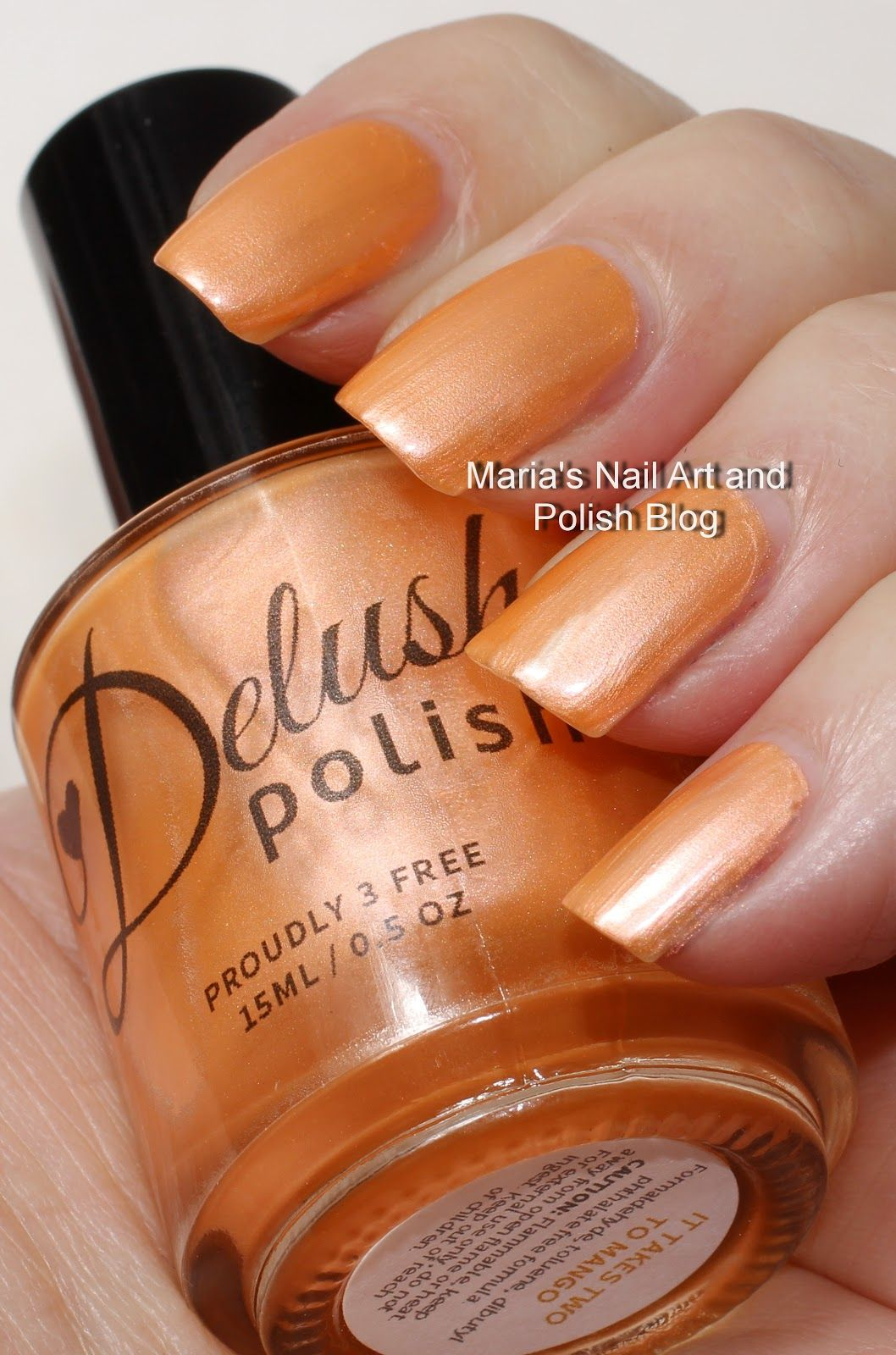 Delush swatches: It Takes Two to Mango | Nails | Pinterest | Swatch ...