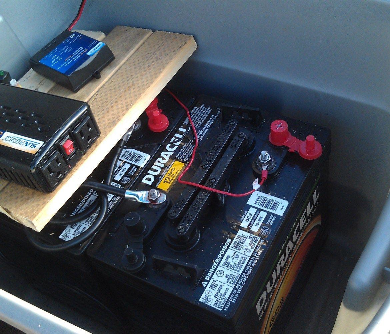 Backup Battery Bank 1 Portable heater, Battery backup