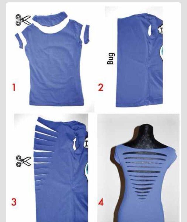 270d0c5a93b Cute Way To Cut Your Shirt  dlg0430