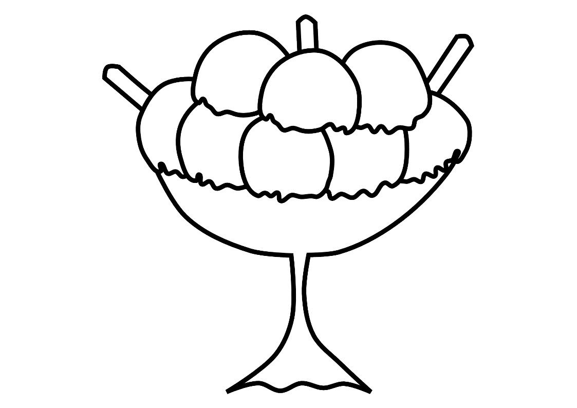 Free Printable Ice Cream Coloring Pages For Kids Ice Cream