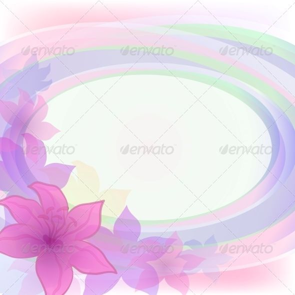 Abstract Flower Background Abstract Flowers Flower