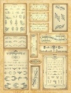 image about Free Printable Ephemera called Totally free printables upon Pinterest Basic Labels, Ephemera and