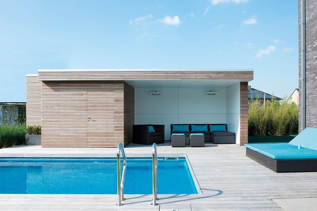Unsere modernen Pool Häuser sind weitaus mehr als eine praktische - pflegeleichter garten modern