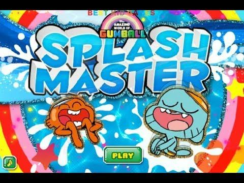 The Amazing World Of Gumball Gameplay Episode Splash Master Game