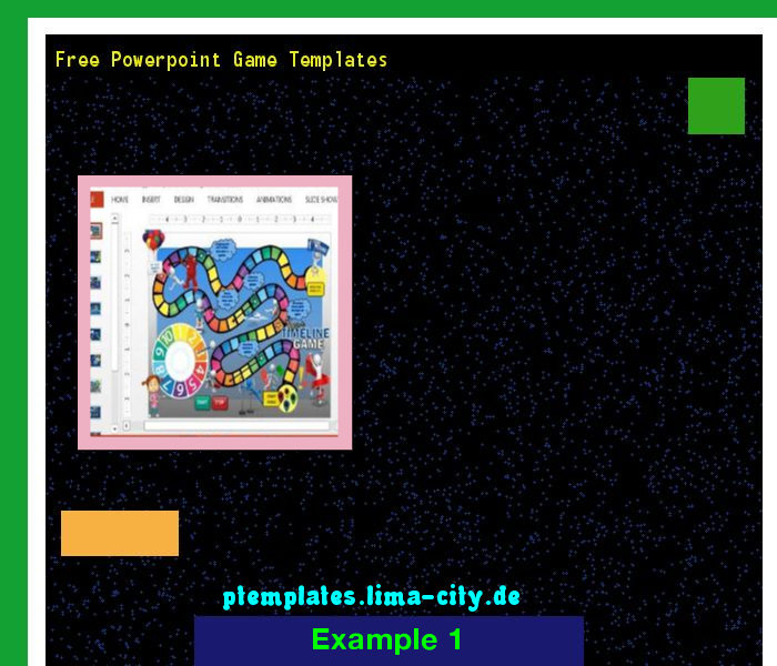 Free Powerpoint Game Templates Powerpoint Templates 134252 The