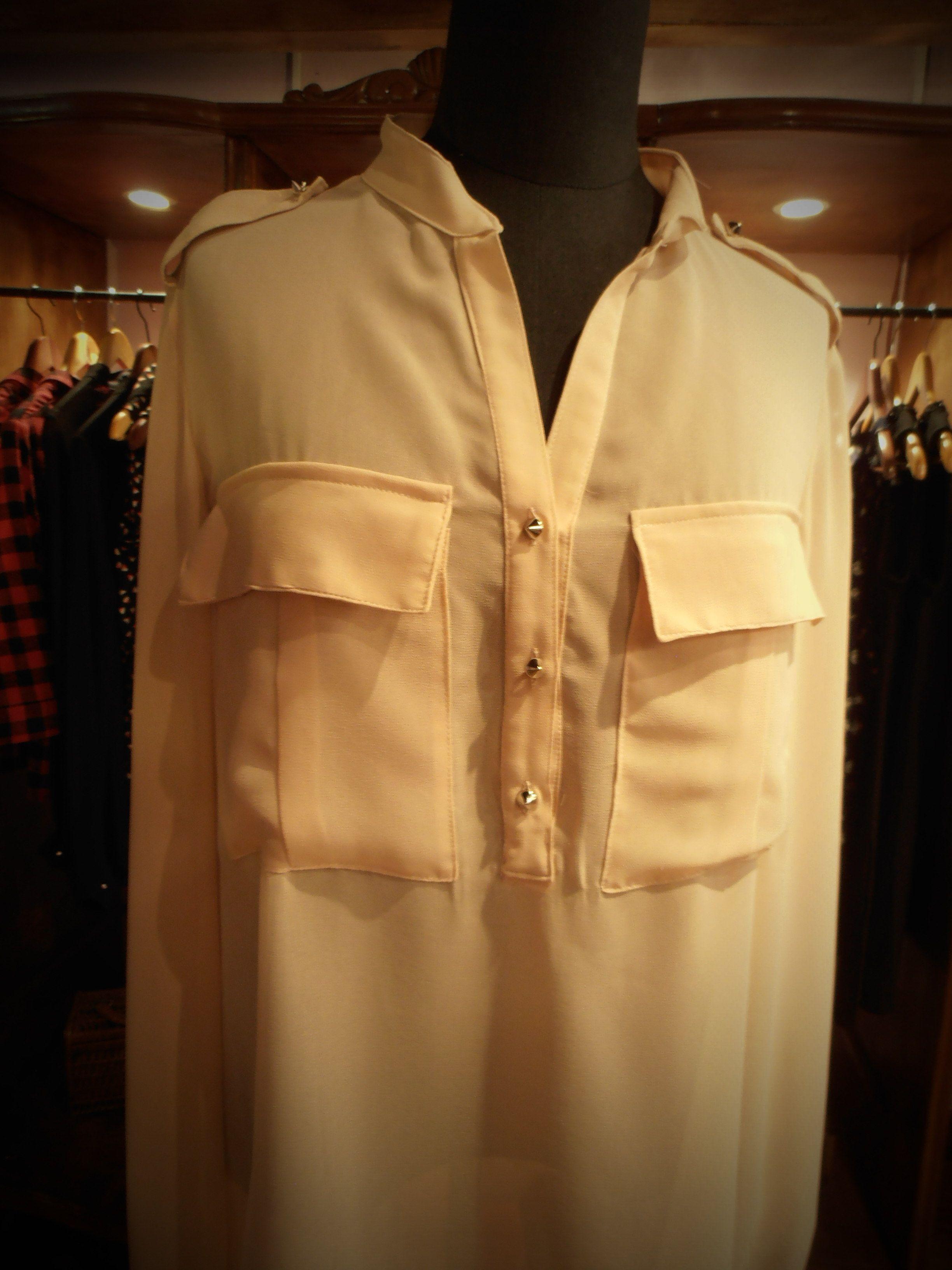 Camisa color nude   Nueva Colección! 33.90€