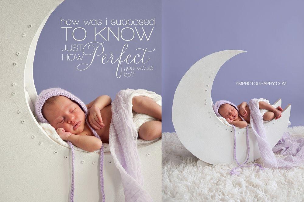 Diy moon prop tutorial newborn photography props diy
