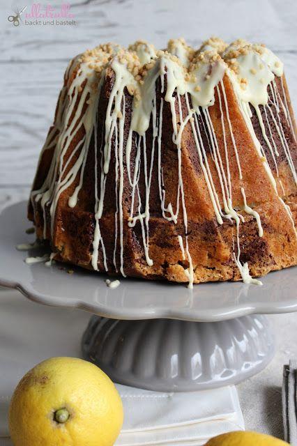 Apfel-Marmorgugl mit weißer Schokolade und Haselnusskrokant | ullatrulla backt und bastelt | Bloglovin'