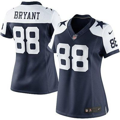 new style 8ad24 8f9bf Nike Dez Bryant Dallas Cowboys Women's Limited Jersey - Navy ...