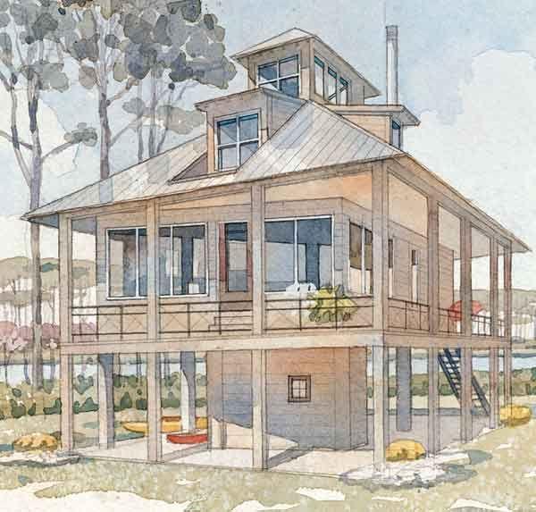 House Siding · Top 10 House Plans   Coastal Living
