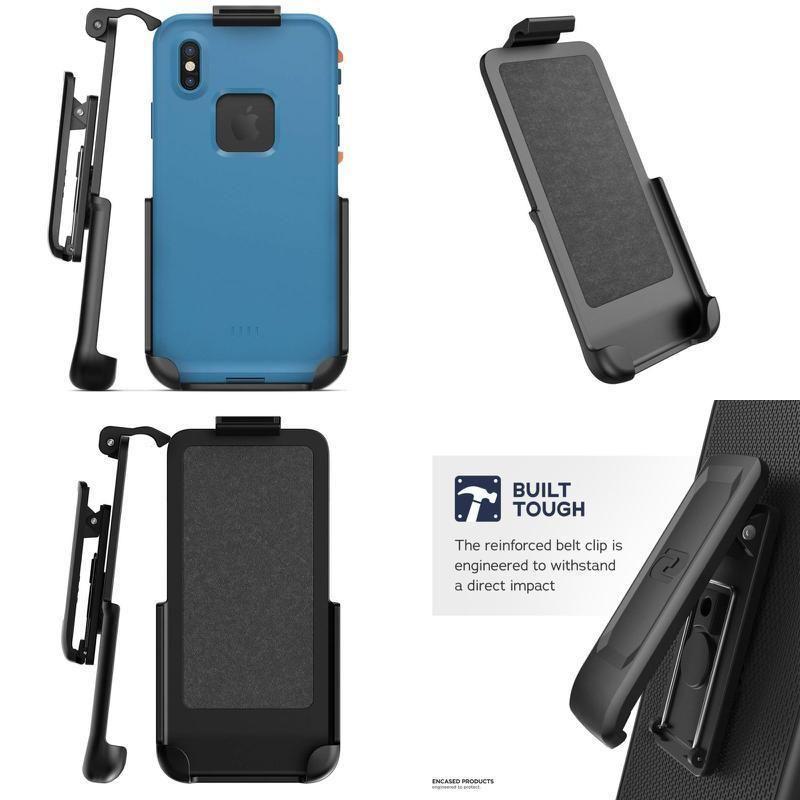 buy popular d3b4c e69e1 Encased Belt Clip Holster for Lifeproof Fre Case - iPhone X (case ...