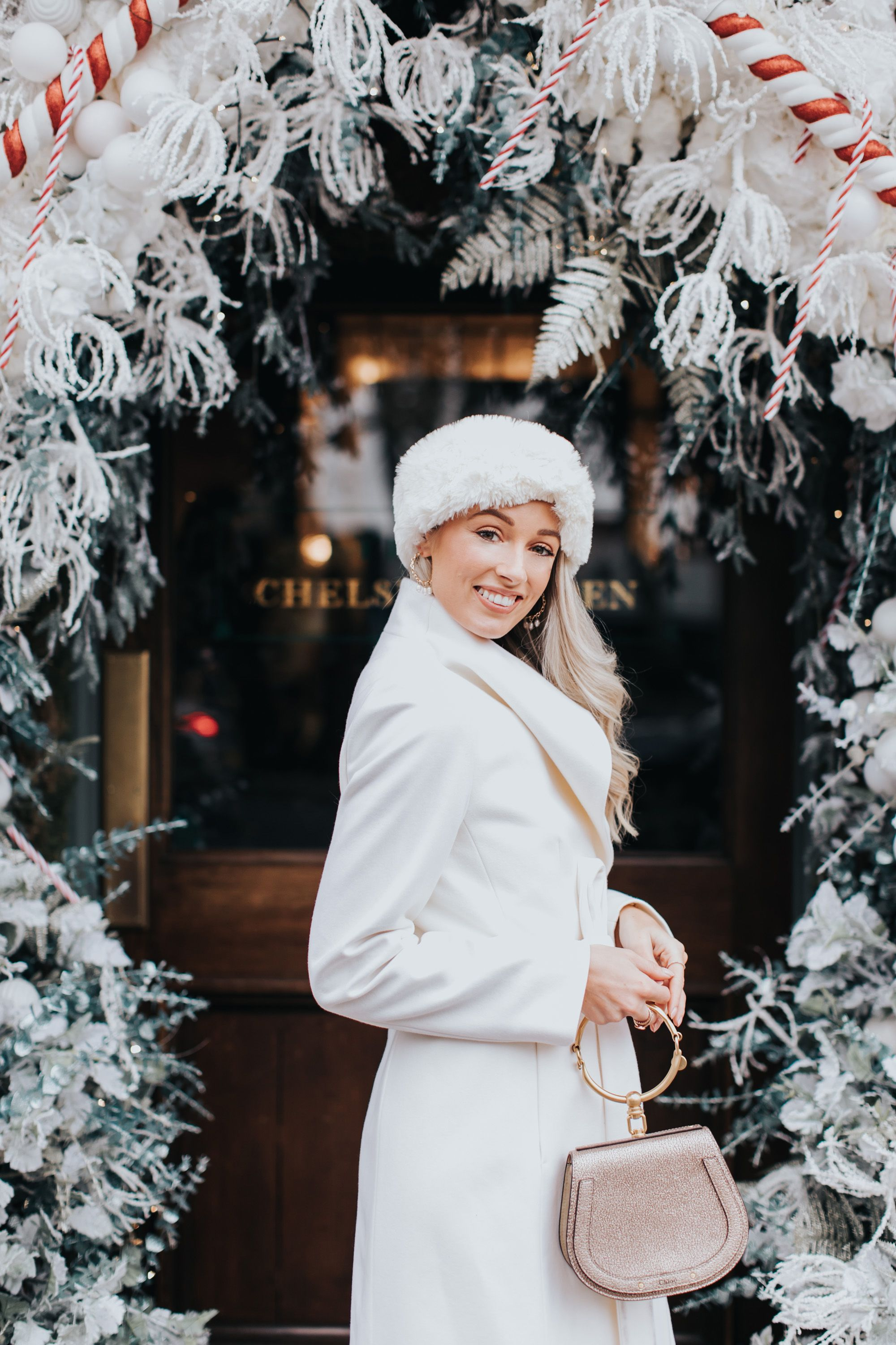 Christmas at The Ivy Chelsea Garden Fashion mumblr