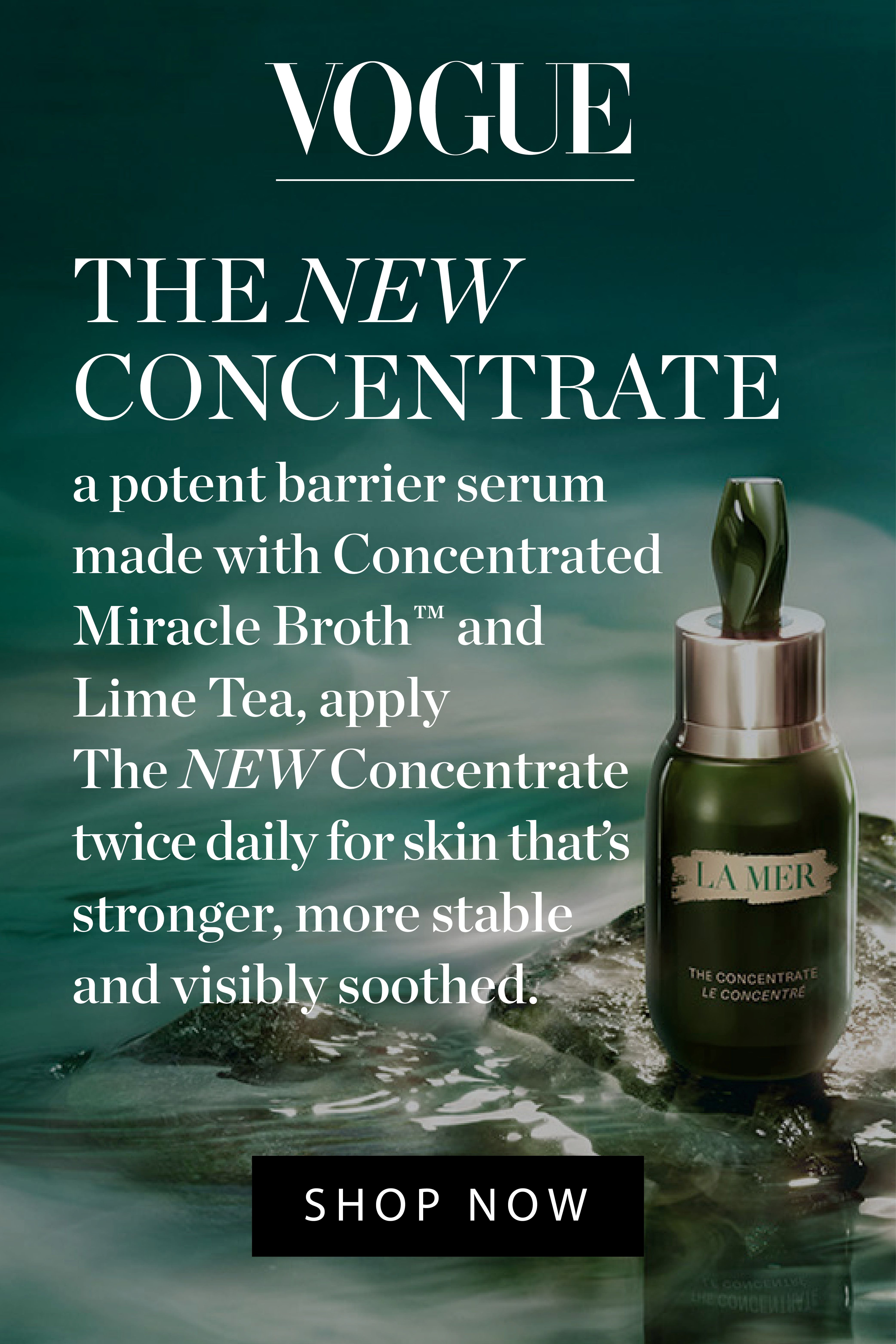The Concentrate Skin Serum La Mer Official Site in