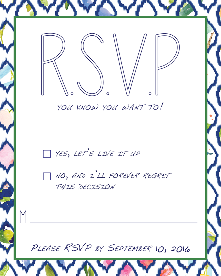18 Wedding RSVP Wording Ideas