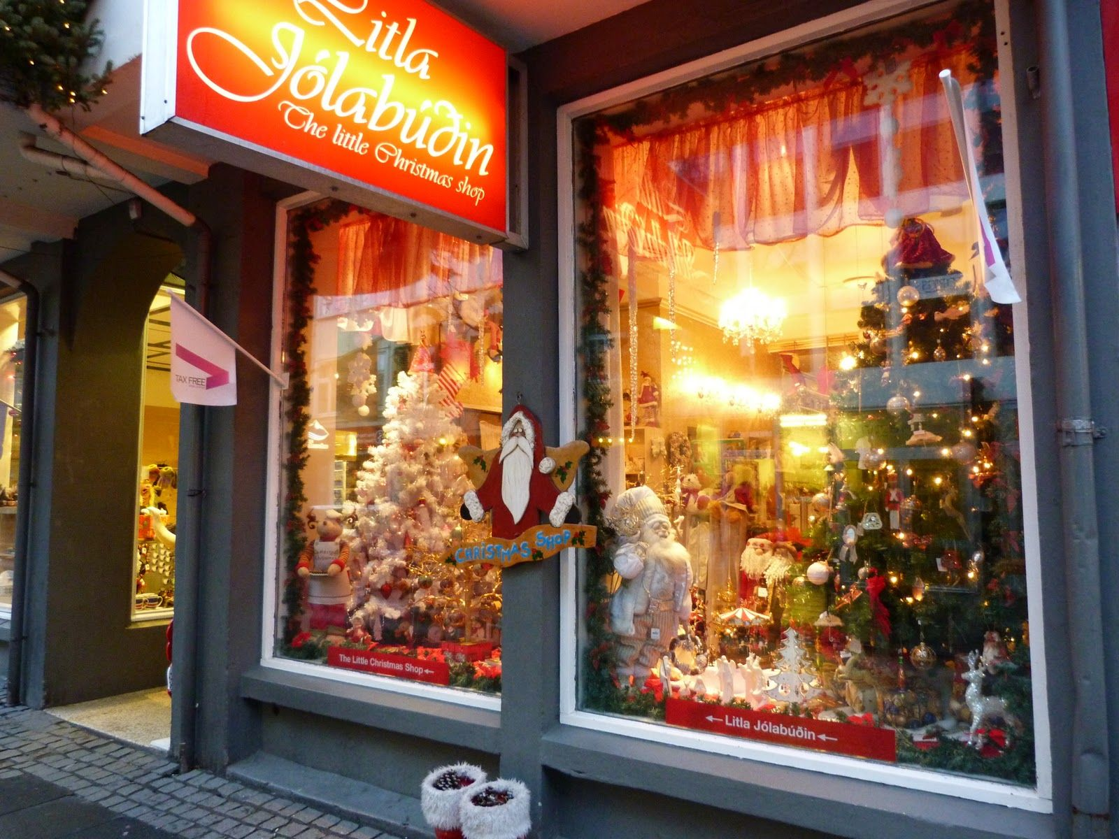 The Little Christmas Shop is open all year around in Iceland ...