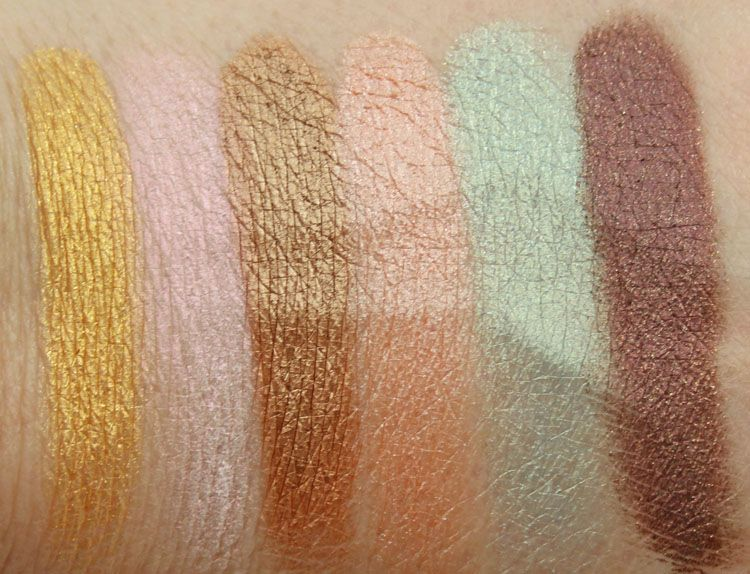 Solar Complete Color Mineral Palette by pacifica #22
