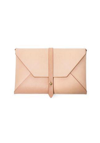 WOODLARK Natural Envelope Clutch vuelaboutique.com: