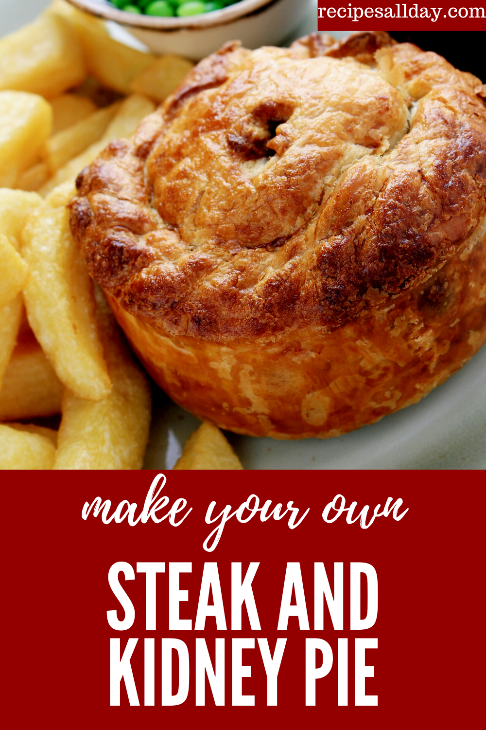 This steak and kidney pie recipe makes a delicious dinner ...