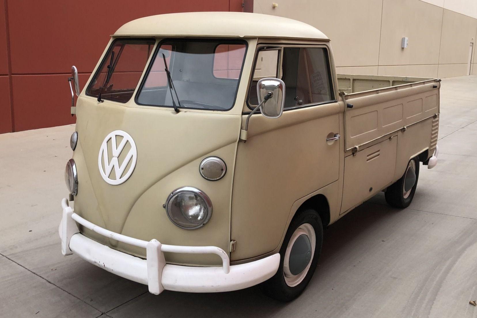 No Reserve: 1965 Volkswagen Single-Cab Transporter