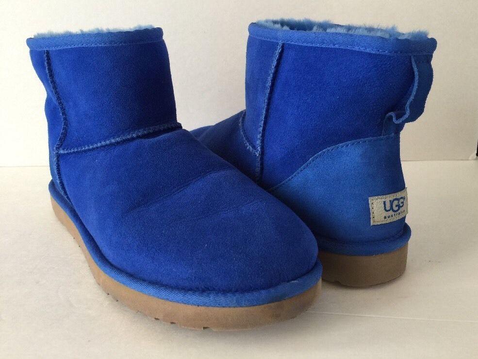 Women Ugg Boots Ugg Classic Mini Ii Succulent Blue Shor