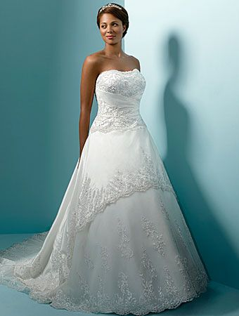 1000  images about plus size wedding dresses on Pinterest  A line ...