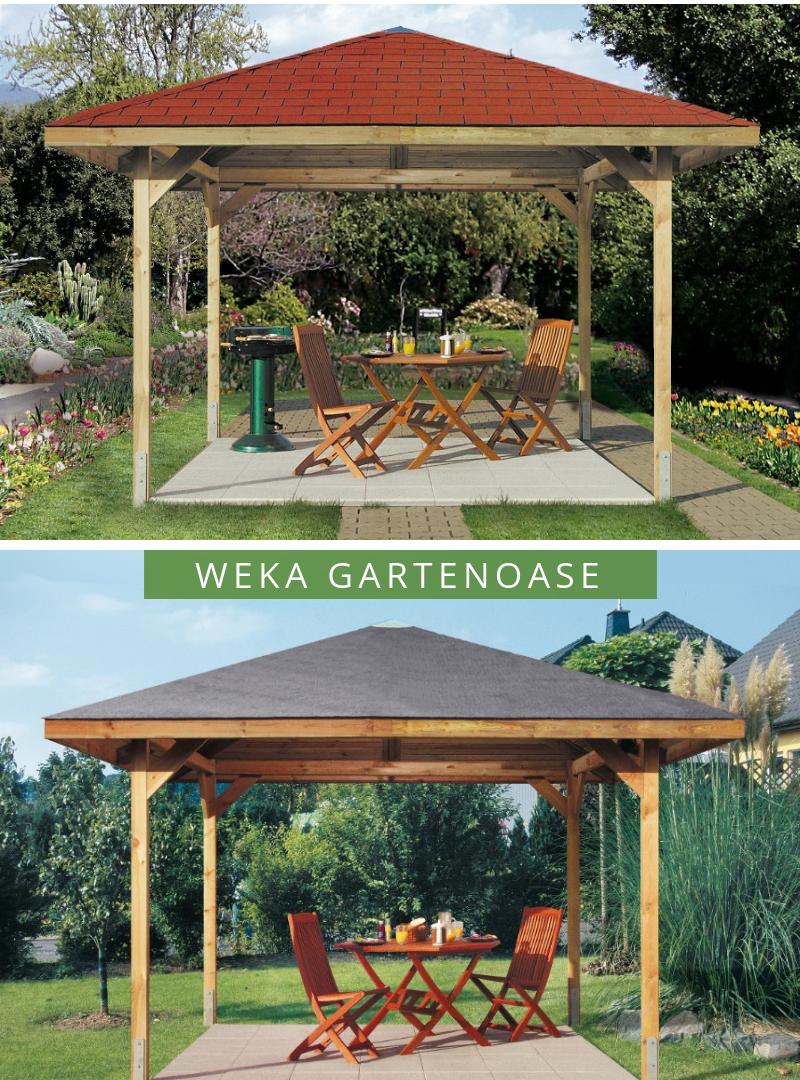 WEKA Gartenoase 651 Gr.3 | Gartenpavillons in 2019 | Garten ...