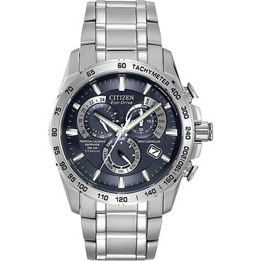 Citizen Radio Controlled Titanium Eco Drive Men S Watch At4011 57l Watches For Men Citizen Watch Mens Chronograph