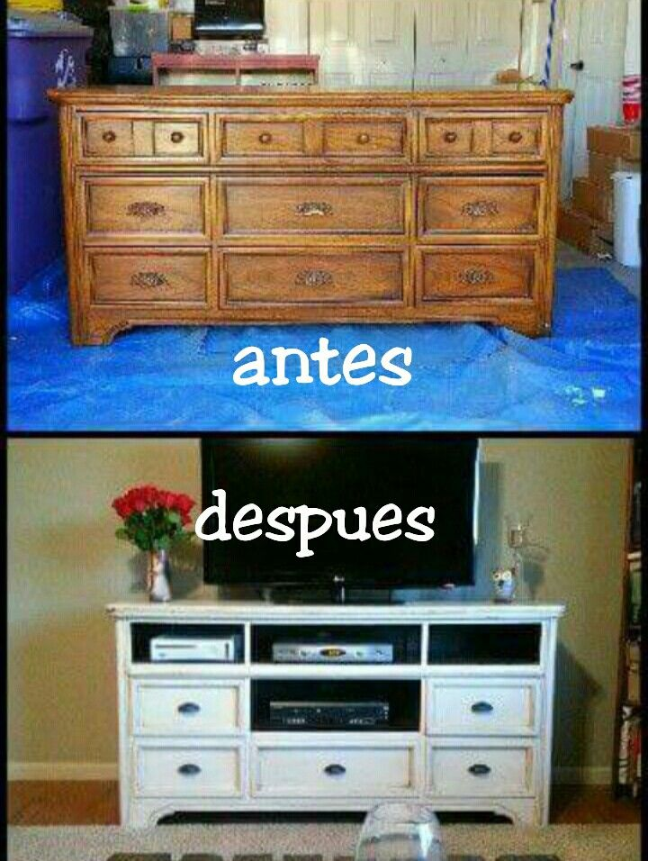 Antes y despues before after decoracion pinterest - Muebles antiguos restaurados antes y despues ...
