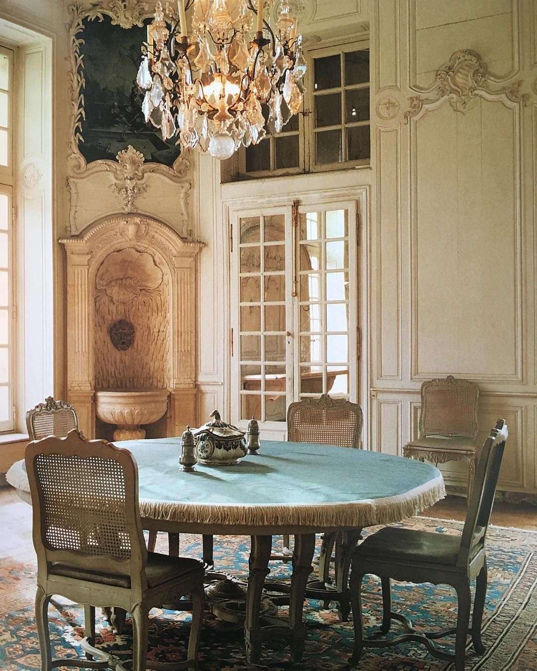 Modern French Chateau Interior Design