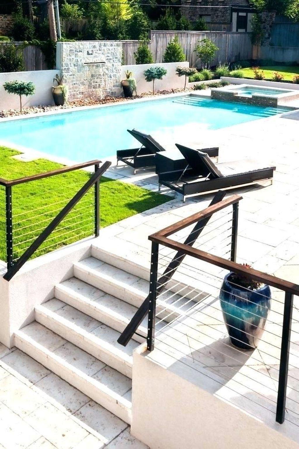32 Awesome Stylish Pool Fence Design Ideas Pool fence