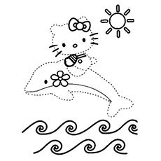 Top 10 Free Printable Dot To Dot Coloring Pages Online  Free