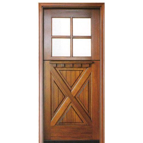 4lt Crossbuck Dutch Door E 01 Wood Doors Interior Wood Exterior Door Dutch Door