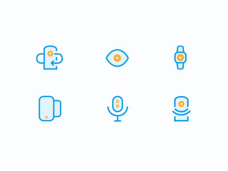 Bold icons (wip) by Luboš Volkov https://dribbble.com/shots/2766997-Bold-icons-wip #zeeenapp