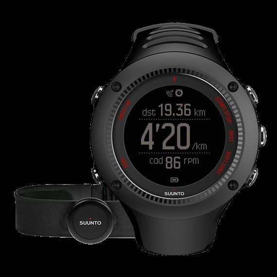 Suunto Ambit3 Run Black (HR)