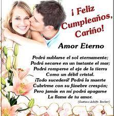 Felicitaciones De Cumpleaños Para Un Novio Frases De Cumpleaños Feliz Cumpleanos Esposo Frases Cumpleaños Amor Feliz Cumpleaños Amor