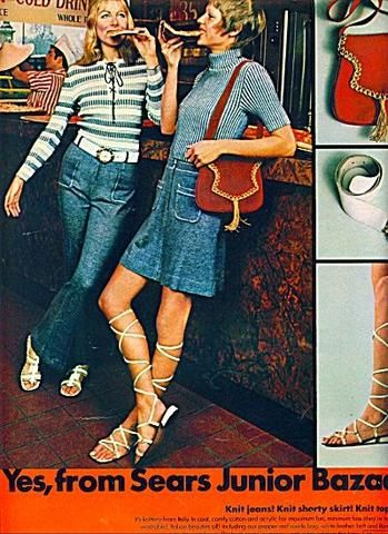 What Was Denim Fashion Like in the 1970s?
