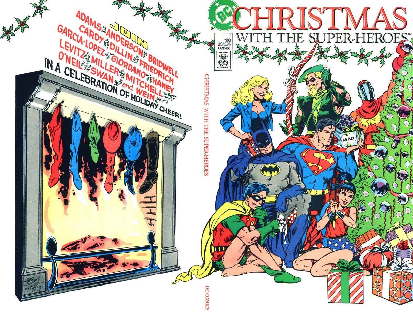 Christmas with the Superheroes | Comics | Pinterest | Superheroes ...