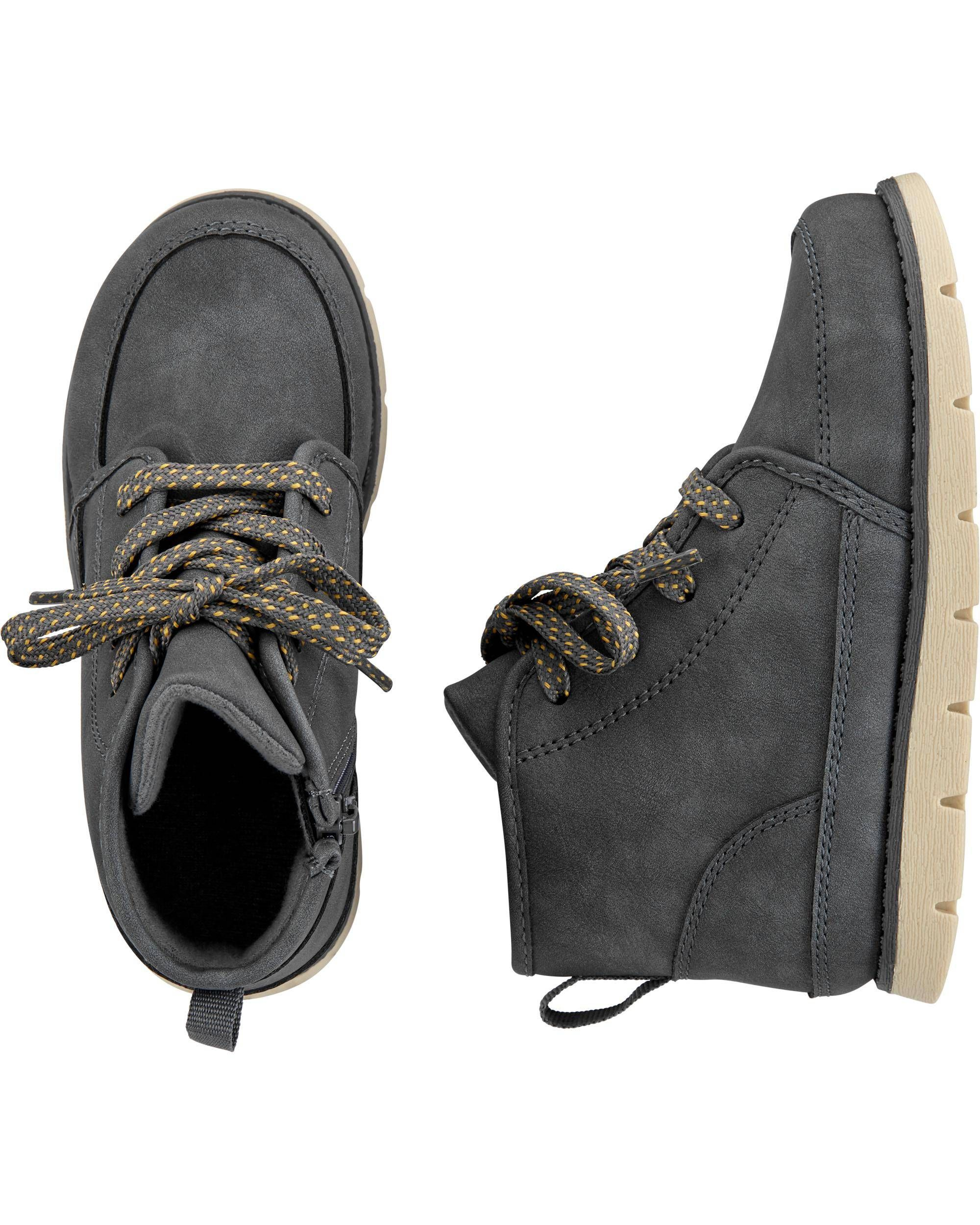 Lace up boots, Baby boy shoes